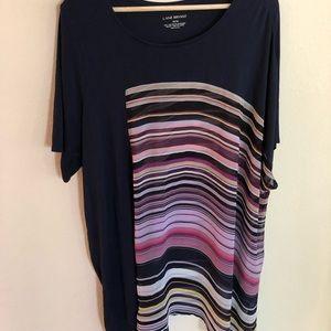 Lane Bryant Multi-Colored Top